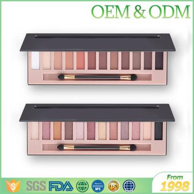 Private label shining & matte beauty eye shadow cosmetics makeup eye shadow