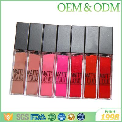 Private price brand name liquid lipsitck hot selling waterproof organic cheap lipstick