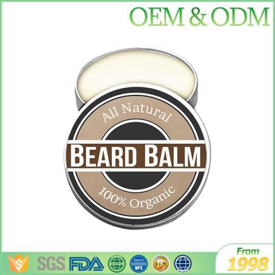 Factory price natural men conditioning beard cream organic oem beard balm