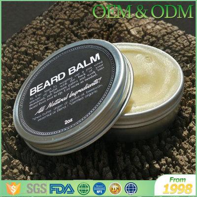 Hot selling custom nautral men beard sytling wax men beard cream
