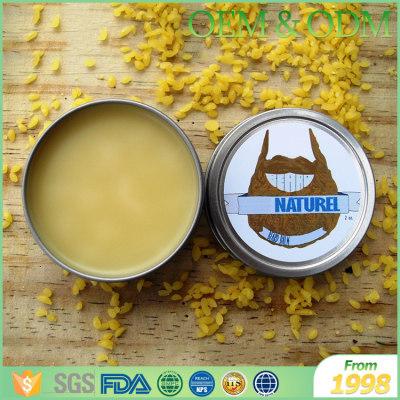 Private label moisturizing cream beard care organic mens beard balm