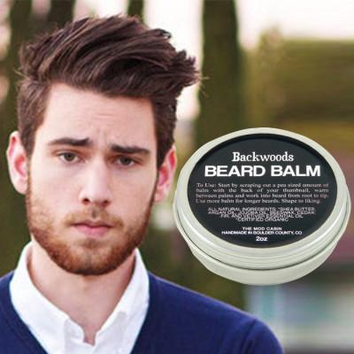 OEM wholesale price 150g beard wax private label beard styling product beard balm