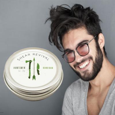 Custom wholesale price organic beard styling wax beard cream