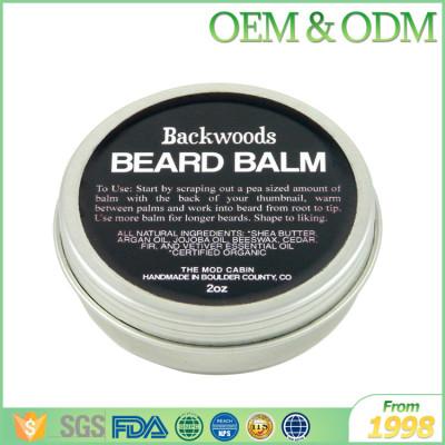 Low price organic beard care product natural beard wax styling product beard balm