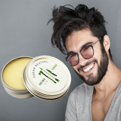 Private label natural smoothly beard wax organic men beard cream