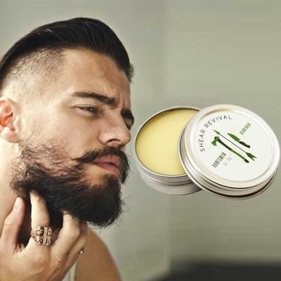 Private label beard styling balm natural moisturzing beard cream