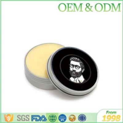 OEM factory private label 100% natural beard styling wax men beard balm