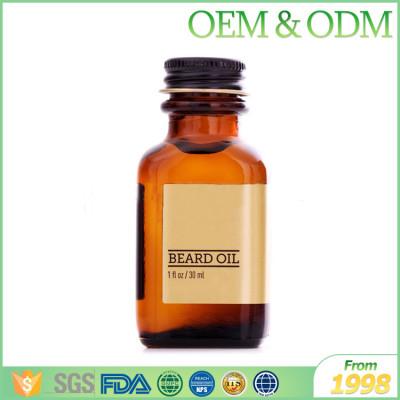2017 Hot selling 20ml organic fragrance beard oil natural beard oil for men