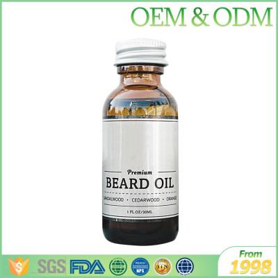 Private label pure organic argan oil beard oil smoothing beard oil natural