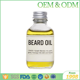 Private label 30ml argan oil beard styling oil natural beard oil organic for men