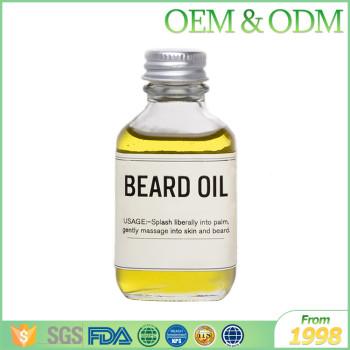 Private label 30ml argan oil beard styling oil natural beard oil organic for men