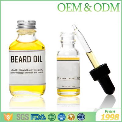 Pure organic tea tree beard oil private label custom organic beard oil for men