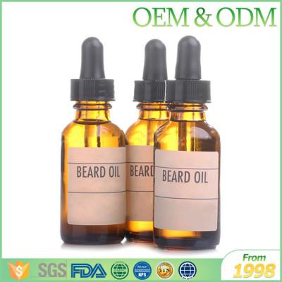Men's cosmetics organic beard oil smoothing beard growth oil