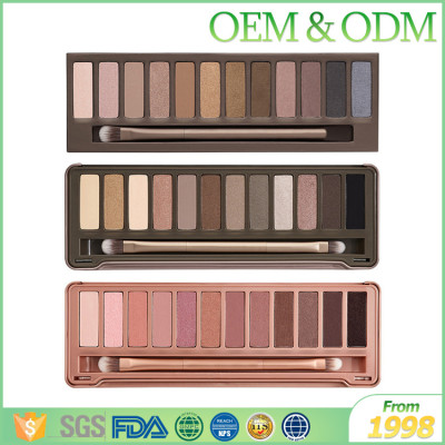 Sample free OEM romantic color eye shadow makeup shadow for eye