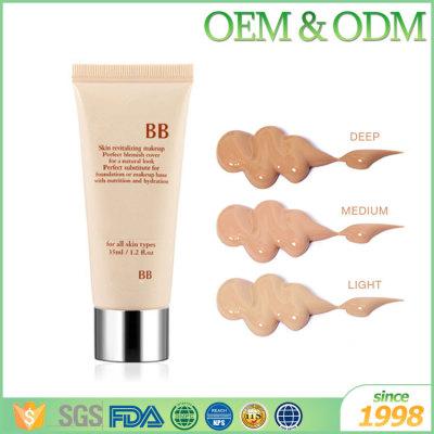 Factory direct price beauty bb cream whitening moisture Isolation bb cream