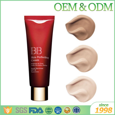 Hot selling facial BB cream anti aging sunscreen whitening lotion bb cream