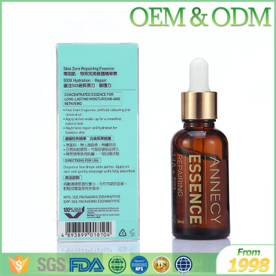 Lifting essence for eyelids skin anti-aging eye serum HA+ rosehip oil repairing eye serum