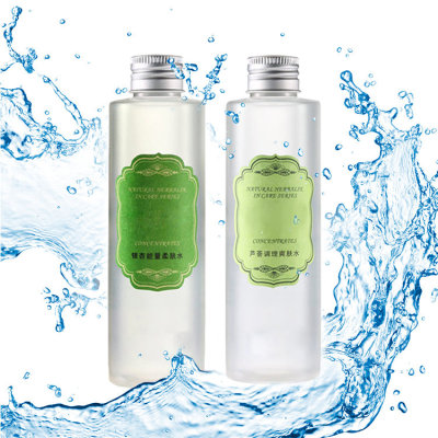 Private label competitive price best skin care cleansing toner aloe vera facial toner
