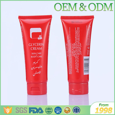 Tube package 50ml body skin care lotion cream portable african body cream