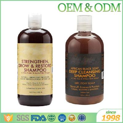 OED ODM magic argan oil black hair shampoo for gray hair black hair shampoo India