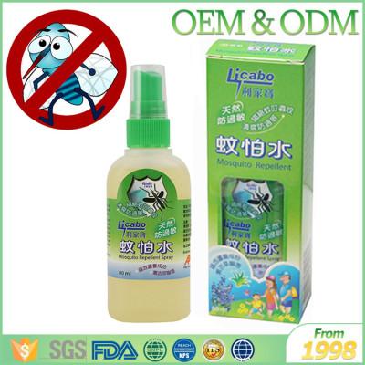 Wholesale liquid anti itching mosquito mist spray with deet anti mosquito repellent essential oils