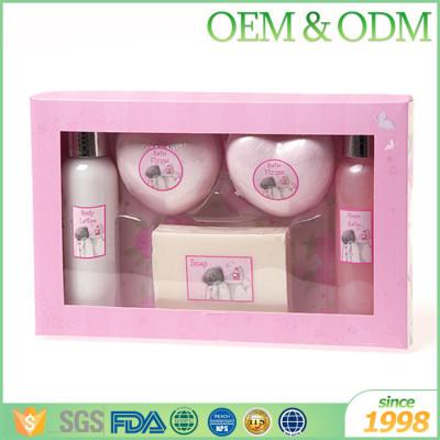 OEM ODM nourish natural elegance aromatic bath travel gift set travel size shower gel bulk