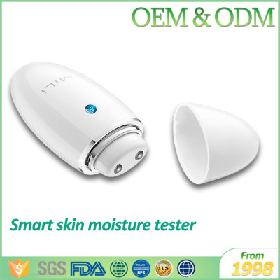 Private label hot selling skin moisture tester device blueteeth skin moisture tester