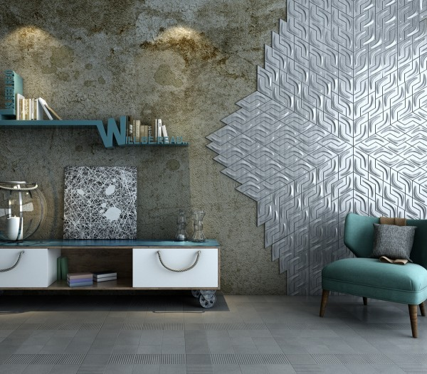 3D Peel and Stick Tiles PU Leather Wall Sticker Soft Leather Wall Panels Hexagon