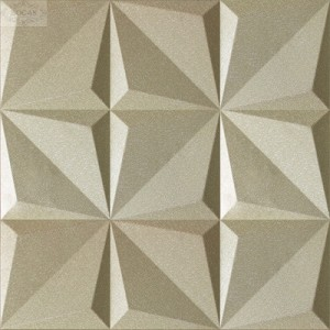 Cheap 3D faux leather wall panels from china factory