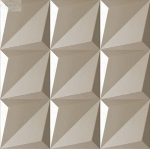 High density fireproof 3d wall tiles used for hotel/livingroom/pub decoration