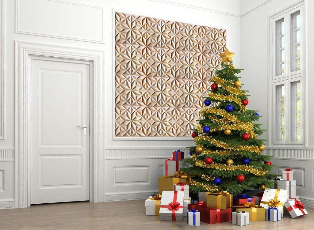 christmas decorations sale-3d wall panels