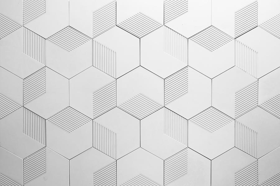 fan 3d faux wall panels