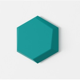 Top design hexgon shape 3D decorative panels home interior wall design panel