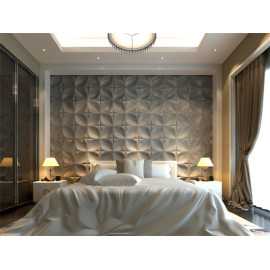 homeroom interior 3dart leather wall panel design cladding Textured Wall Covering PU Material Panels Stickers