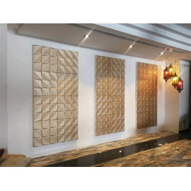 Building with home gardening for indoor luxury soundproof decorative panel