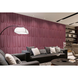 Faux leather Material Tiles wall covering