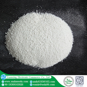 Soda Ash Light 99,2% para fabricação de vidro