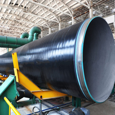 SSAW STEEL PIPE WITH 3PE ACC TO DIN 30670