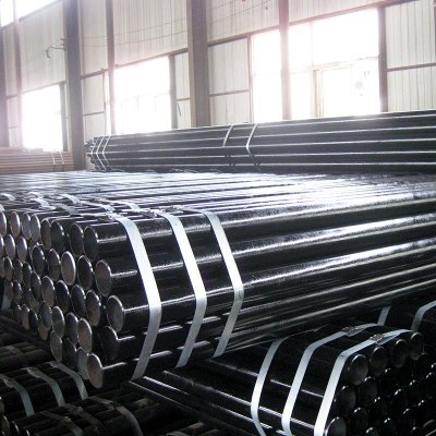 ERW STEEL PIPE ACC TO SS400 FOR GAS
