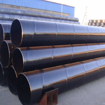SSAW STEEL PIPE ACC TO ASTM A53 GrB for HEAT EXCHANGING PROJECT