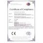 Cargador de coche certificación CE