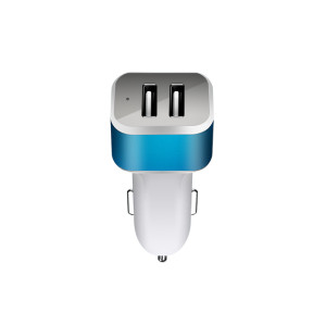 Fast Charging smart electric input DC9-24V usb car charger output 5V 2.1A/3.1A/4.8A support QC2.0/3.0