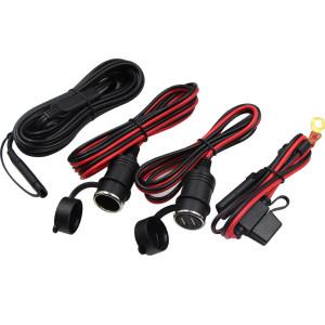 12v car battery solar charger Female male Cigarette Lighter Socket SAE alligator cilps terminals Cable