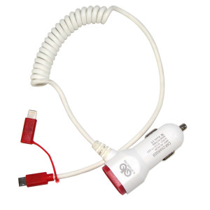Usb Car Charger with wire For Apple Iphone/Iphone 6/Ipad/Samsung Charger Multi Cellphone Chargers