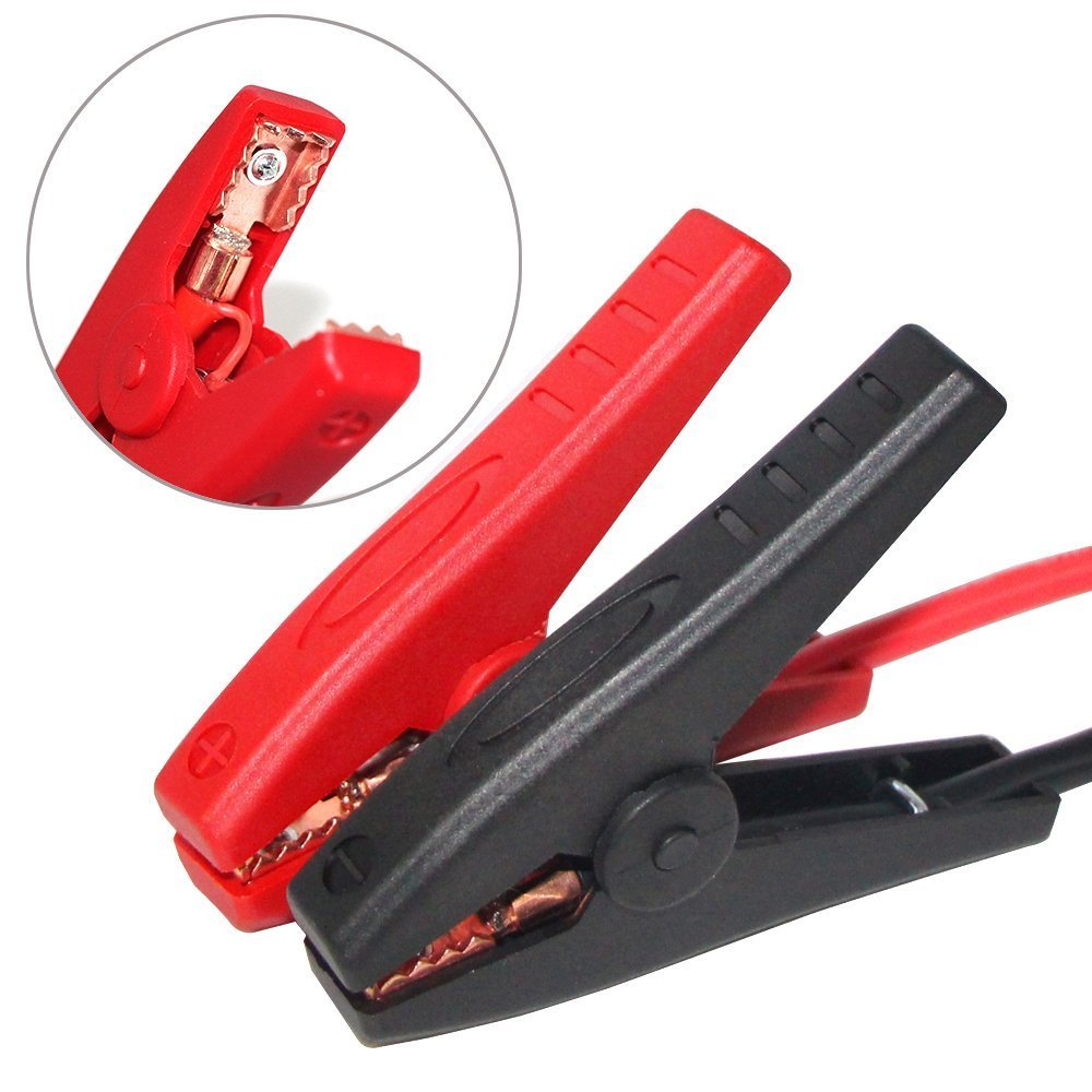 Car Emergency Alligator Clamp Booster Battery Clip