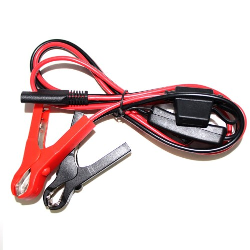 12v 24v car battery clips to sae cable with fuse box booster battery jump  starter cable multi-function car jump starter cable