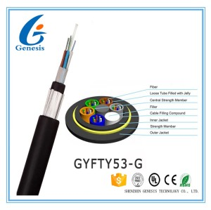 GYFTY53-G All Dielectric Cable For Ducts With Rodent Protection