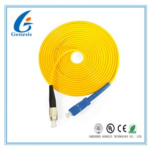 FC-SC FIBER OPTIC PATCH CORDS