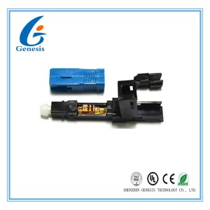 FTTH Drop Cable 4mm Fiber Optic Cable Connector