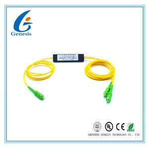 Dual Window SC / APC ABS Box Type FBT fiber optic splicing 1m Fiber lenght